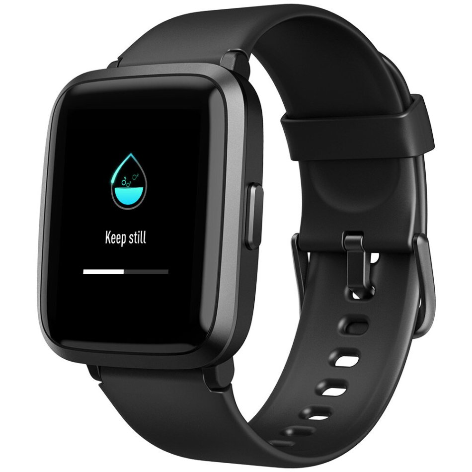 [SPO2 Monitor]UMIDIGI UFit BT5.0 Full Touch Screen Oximeter Blood Pressure PPG Heart Rate Female Health Monitor 5ATM Waterproof Smart Watch