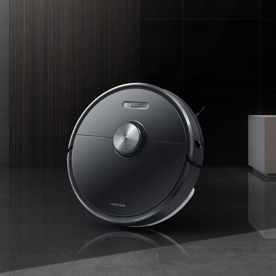 Roborock S6 Robot Vacuum Cleaner 5200mAh LDS Laser Navigation Language Control Smart Planning Mopping