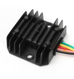 12v 5 wires regulator rectifier for 50cc 125cc chinese atv quad scooter motorcycle cod [ 1200 x 1200 Pixel ]