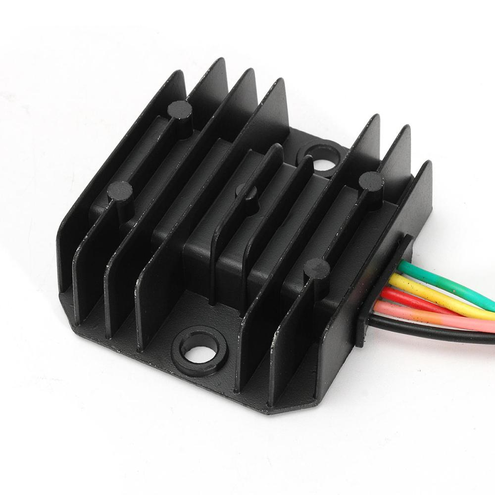 medium resolution of 12v 5 wires regulator rectifier for 50cc 125cc chinese atv quad scooter motorcycle cod
