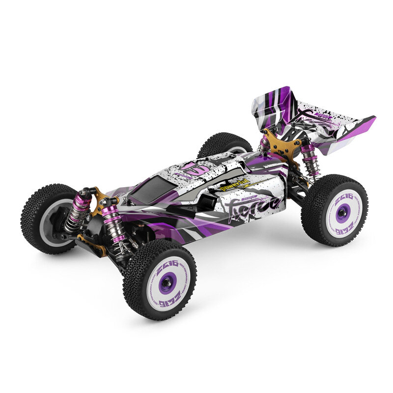Wltoys 124019 RTR 1/12 2.4G 4WD 60km/h Metal Chassis RC Car Off-Road Vehicles 2200mAh Models Kids Toys