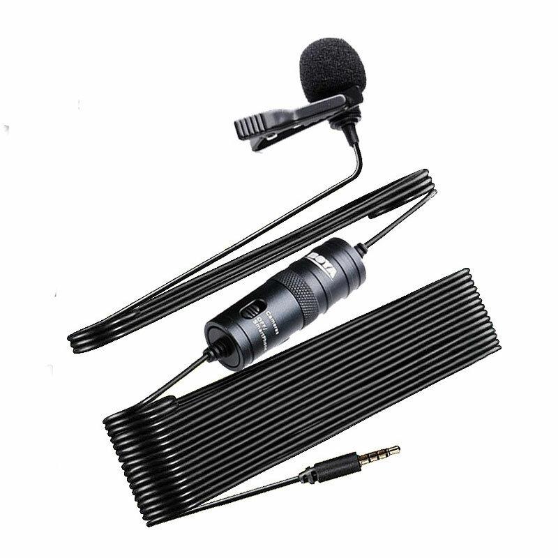 BOYA BY-M1 3.5mm Audio Video Record Lavalier Lapel Microphone