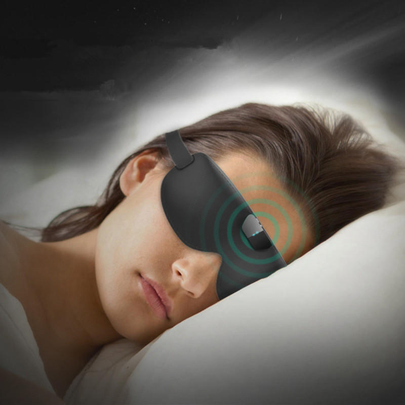 Intelligent USB Rechargeable Anti-snoring Eye Mask Outdoor Portable Traveling Snore-ceasing Equipment Sleeping Eyeshade