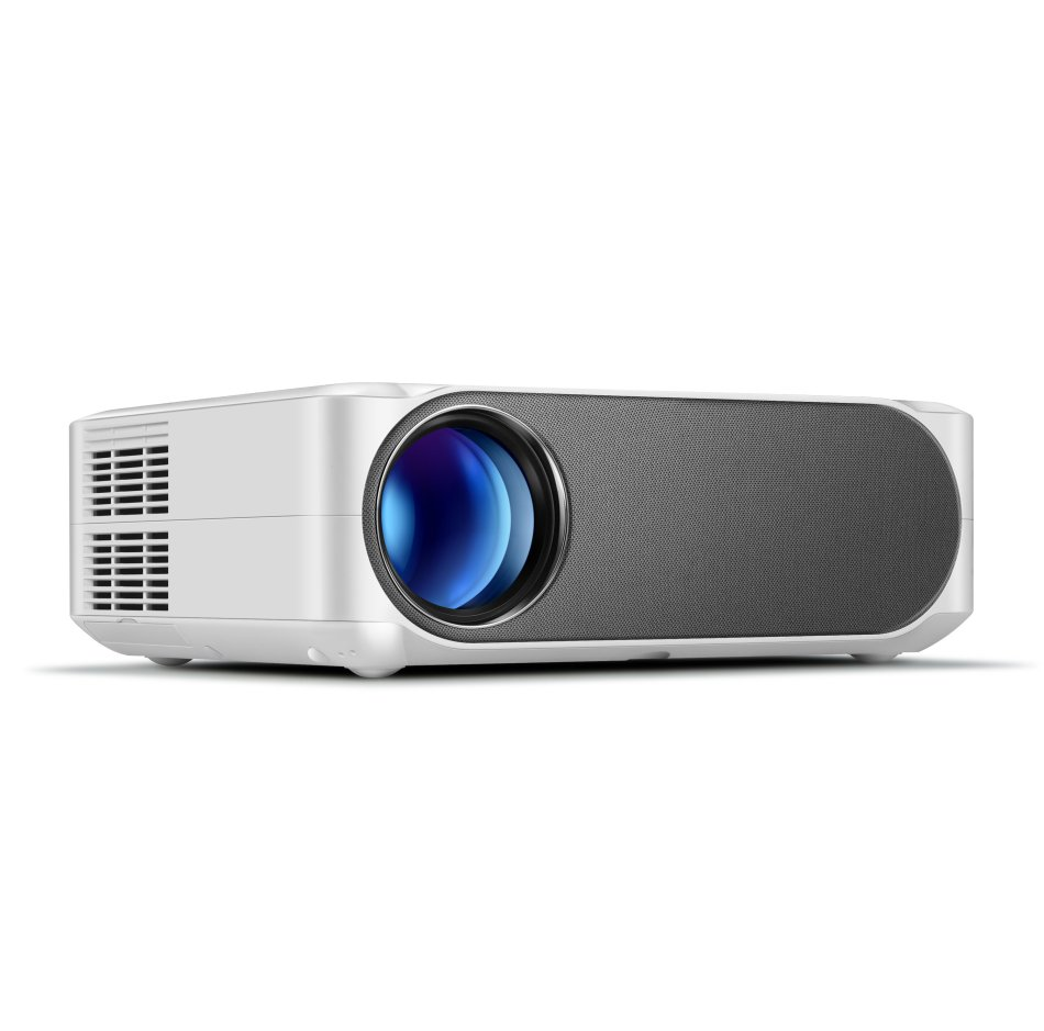 AUN AKEY6 Projector Full HD 1080P Resolution 6500 Lumens Built in Multimedia System Video Beamer LED Projector for Home Theater