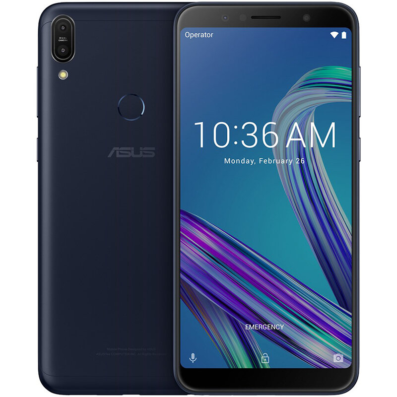 ASUS ZenFone Max Pro (M1) ZB602KL Global Version 6.0 inch FHD+ 5000mAh 13MP+5MP Dual Rear Cameras 3GB RAM 32GB ROM Snapdragon 636 Octa Core 4G Smartphone