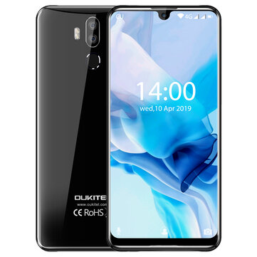 £197.1217%OUKITEL K9 7.12 Inch FHD+ Waterdrop Display 6000mAh 4GB RAM 64GB ROM Helio P35 Octa Core 2.3GHz 4G SmartphoneSmartphonesfromMobile Phones & Accessorieson banggood.com