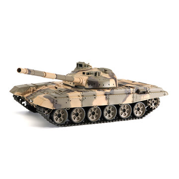 Heng Long 6.0 3938-1 1/16 2.4G Russian T-90 Rc Car Battle Tank With Smoking Sound Plastic Version Toys