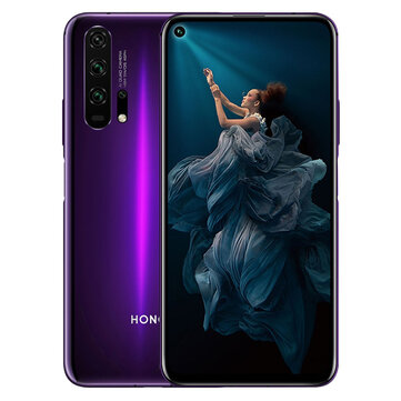 £559.43 HUAWEI HONOR 20 Pro 6.26 inch 48MP Quad Rear Camera NFC 8GB RAM 128GB ROM Kirin 980 Octa core 4G Smartphone Smartphones from Mobile Phones & Accessories on banggood.com