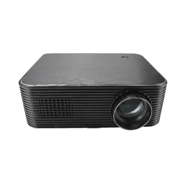 CRE X1602 LCD Projector 3600 Lumens Real 1080P Android 6.0 Version 1+8GB bluetooth 4.0 RJ45 LAN 4K Resolution Multiple Ports Built-in Speaker Smart Home Theater Projector
