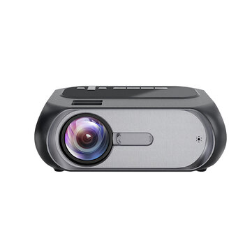 TOPRECIS T7 LCD Projector HD 720P 3800 Lumens Media LED Video Movie Projector Beamer Home Theater
