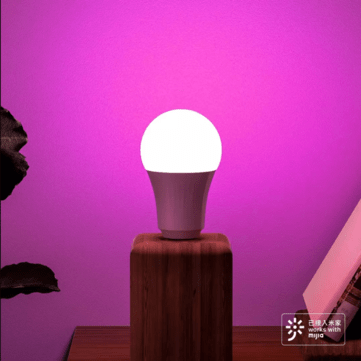 3 Pcs Xiaomi Inncap Smart LED Bulb Colorful 10W E27 Dimmable Lampada Dimmable Timer Smart Night Light Bulb for mihome app xiaoai loT