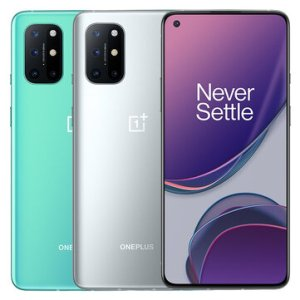 OnePlus 8T 5G Global Rom NFC Android 11 8GB 128GB Snapdragon 865 6.55 inch FHD+ HDR10+ 120Hz Fluid AMOLED Screen 48MP Quad Camera 65W Warp Charge Smartphone – Silver