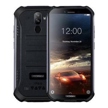 banggood DOOGEE S40 MTK6739V 1.28GHz 4コア BLACK(ブラック)