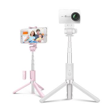 BlitzWolf BW-BS3 Sports 3 in 1 bluetooth Tripod Selfie Stick for Sport Camera Phone Gropro