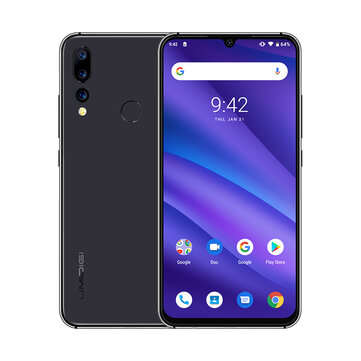 £96.3825%UMIDIGI A5 Pro Global Version 6.3 Inch FHD+ Waterdro Display Android 9.0 4150mAh Triple Rear Cameras 4GB 32GB Helio P23 4G SmartphoneSmartphonesfromMobile Phones & Accessorieson banggood.com