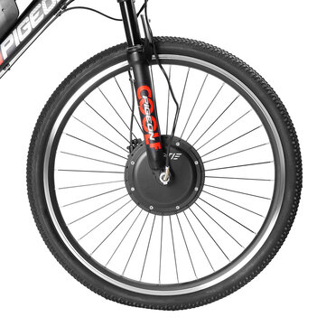LAOTIE EW-BT3 Wireless 26in/700C Universal 36V 10.4Ah 350W Intelligence Bicycle Wheel Brushless Motor Front Wheel for Electric Bike