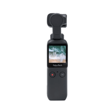 Feiyu Pocket New Smart Compact HD 4K 120M Camera 120 Degree 6-Axis Stabilized Handheld Gimbal Autofocus Anti-Shake Support WiFi