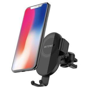 Όποιος δεν το πάρει στην τιμή αυτή σίγουρα θα χάσει!!!   BlitzWolf® BW-CW1 10W 7.5W 5W 360°Rotation Qi Wireless Charger Car Phone Holder for iPhone 11 Pro XR X for Samsung S9 S10 for Xiaomi Huawei