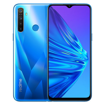 Realme R5 Global Version 6.5 Inch HD+ Android 9.0 5000mAh 12MP AI Quad Cameras 3GB RAM 32GB ROM Snapdragon 665 Octa Core 2.0GHz 4G SmartphoneSmartphonesfromMobile Phones & Accessorieson banggood.com