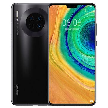 HUAWEI Mate 30 6.62 inch 40MP Triple Rear Camera 8GB 128GB NFC 4200mAh Wireless Charge Kirin 990 Octa Core 4G SmartphoneSmartphonesfromMobile Phones & Accessorieson banggood.com