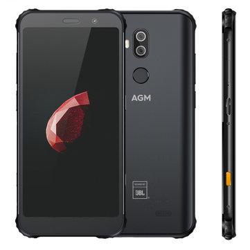 £448.4214%AGM X3 5.99 inch Wireless Charging NFC IP68 Waterproof 4GB 64GB Snapdragon 845 Octa Core 4G SmartphoneSmartphonesfromMobile Phones & Accessorieson banggood.com