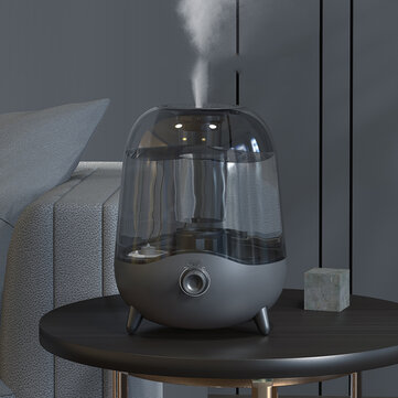 Deerma DEM-F323 5L Large Capacity Crystal Mute Mini Air Humidifier Bedroom Living Room Dual Use