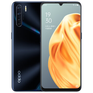 OPPO A91 CN Version 6.4 inch FHD+ Android 9.0 4000mAh VOOC 3.0 48MP Quad Rear Cameras 8GB 128GB Helio P70 Octa Core 4G Smartphone Smartphones from Mobile Phones & Accessories on banggood.com
