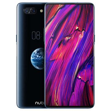 banggood Nubia X Snapdragon 845 SDM845 2.8GHz 8コア BLACK(ブラック)
