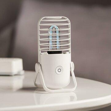 [New Release] 2020 Xiaoda Poratble USB UVC Germicidal Ozone Sterilization Table Lamp Ultraviolet UV Sterilizer Light Tube For Home Bathroom Bedroom from