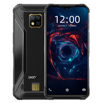 DOOGEE S95 Global Bands IP68 Waterproof 6.3 inch FHD+ NFC 5150mAh 48MP Triple AI Rear Cameras 6GB 128GB Helio P90 4G Smartphone Mobile Phones from Phones & Telecommunications on banggood.com
