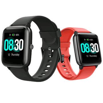 UMIDIGI Uwatch3 1.3' Full Touch Screen Wristband 5ATM Waterproof 9 Sport Modes 45Days Long Standby HR Monitor Smart Watch