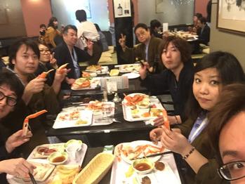 社内レクレーション&カニの旅_20170209_2