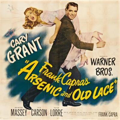 Image result for arsenic and old lace poster