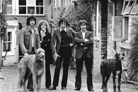 The Who, with Dogs Photo by Associated Newspapers at AllPosters.com
