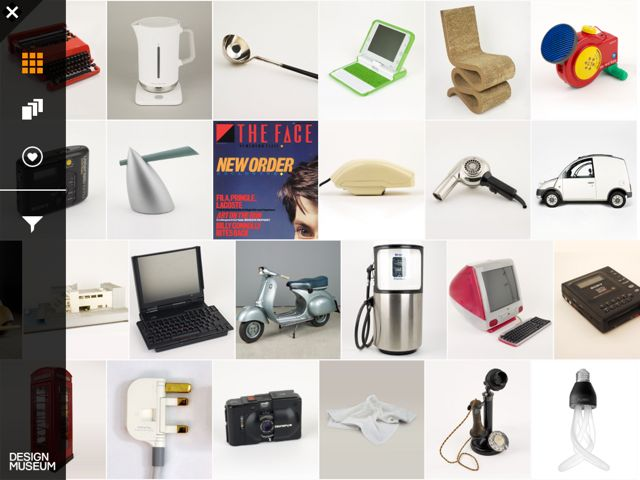 [iPad] The Design Museum Collection for iPad: 美しい製品デザインを ...
