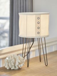 Linen Table Lamp - Nordic House