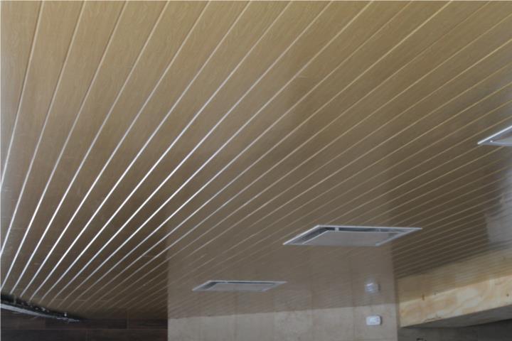 Plafon en aluminio 2x2, 2x4, Linear