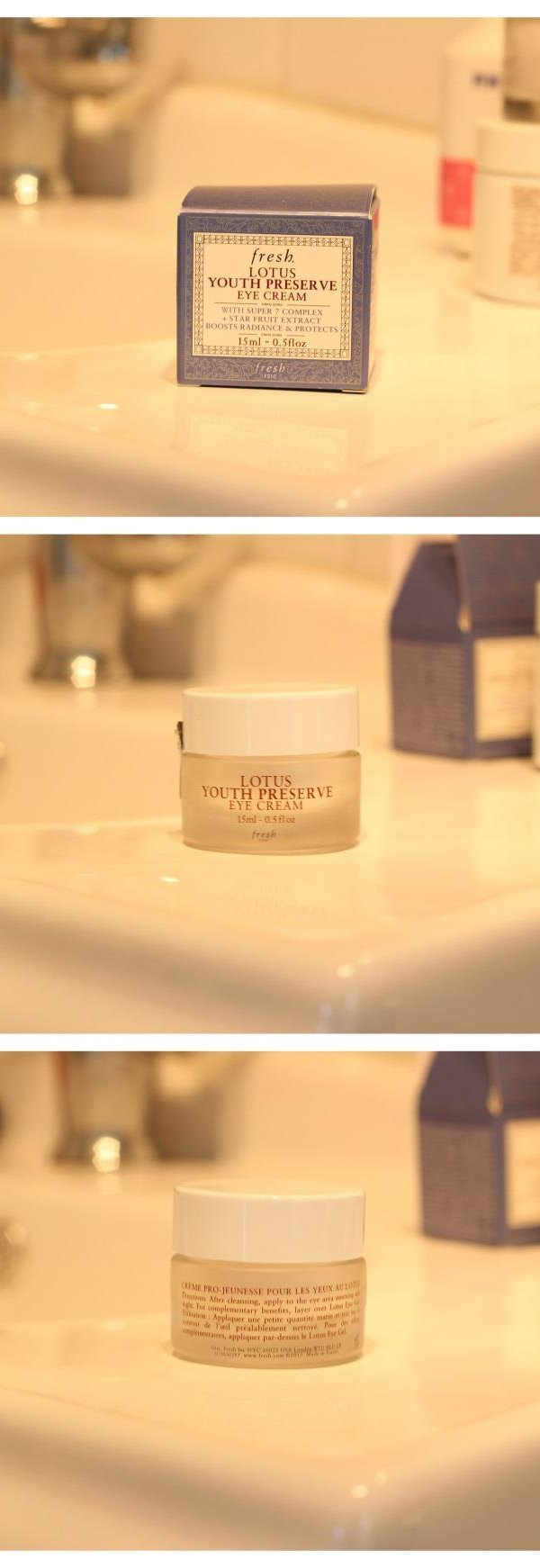 Lotus Youth Preserve Eye Cream Review