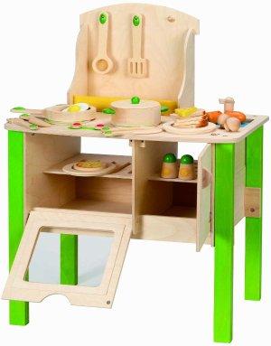 solid wood toy kitchen design new layout 64 97 史低价hape 儿童实木厨房玩具套装 北美省钱快报