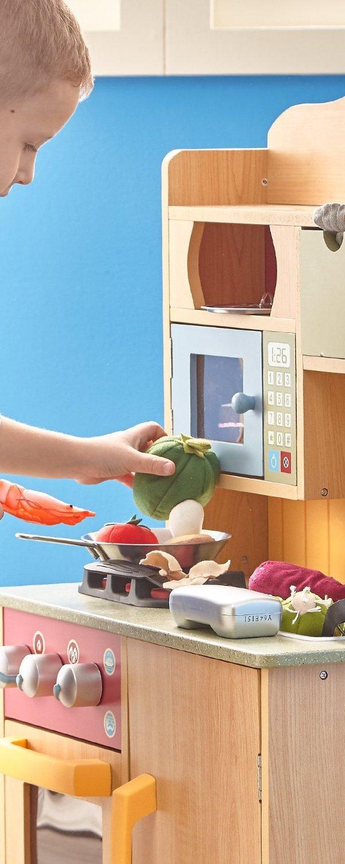 childrens toy kitchen island with storage 67 31 原价 169 00 teamson 儿童玩具厨房配送玩具厨具 北美省钱快报 产品介绍 本款玩具厨房获得amazon用户4 4星好评 受到很多家长和小朋友的喜爱 木质结构 非常结实 涂漆不含铅 符合美国各项玩具安全标准 附送玩具厨具 包括调料