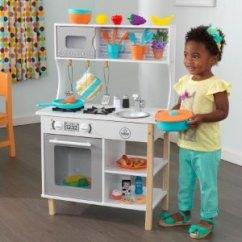 Kidkraft Toy Kitchen Carts For Small Kitchens All Time Play 儿童玩具厨房带配件3018064 89 99 北美省钱快报