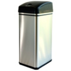13 Gallon Kitchen Trash Can Wine Decorations For 52 28 Itouchless 加仑除臭感应式垃圾桶 北美省钱快报 28itouchless