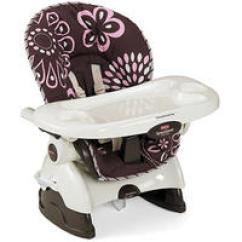Graco Space Saver High Chair Wedding Covers Harrogate 37 8 Fisher Price Spacesaver Cocoa Pink Dealmoon