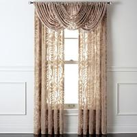 kitchen curtains kohls glass door handles 17 85 royal velvet ravenna 落地窗帘 北美省钱快报 85royal