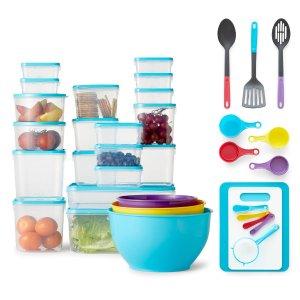 kitchen utensils set designers nj 16 99 cooks 厨房用具套装55件套 北美省钱快报 99cooks