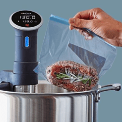 Tall Kitchen Bags Ikea Base Cabinets 高大上厨房神器 139 99 Anova Sous Vide 蓝牙智能真空烹饪器 加拿大省 99anova