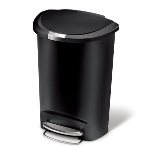 13 gallon kitchen trash can swan granite sinks 29 97 simplehuman 13加仑脚踩式垃圾桶 北美省钱快报 97simplehuman
