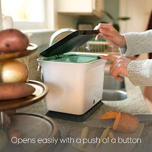 kitchen composter corner sinks for sale full circle 厨房堆肥桶2636077 29 99 北美省钱快报 厨房堆肥