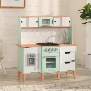 kid craft kitchen handicap accessible kitchens kidkraft mckinney 木质小厨房2953787 99 北美省钱快报 kidkraft厨房