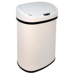 13 Gallon Kitchen Trash Can Plastic Containers 31 99 13加仑自动感应垃圾桶多色可选 北美省钱快报 9913加仑自动感应垃圾桶多色可选